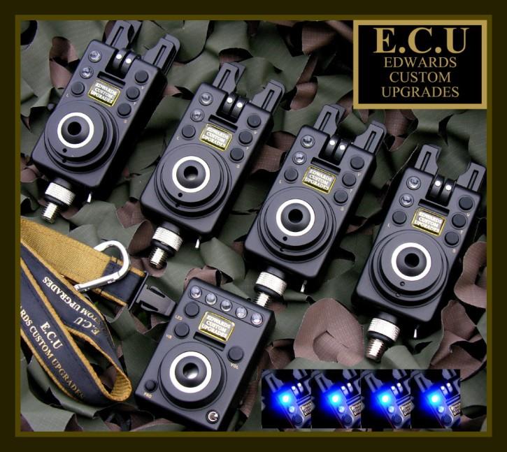 E.C.U. Compact Mk 1 Bissanzeiger mit blauer LED