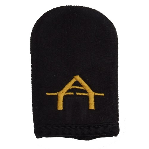Gardner Tackle ATTs Neoprene Case, Goldenes Logo
