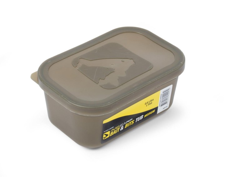 Avid Carp Bait Tub Small with Lid