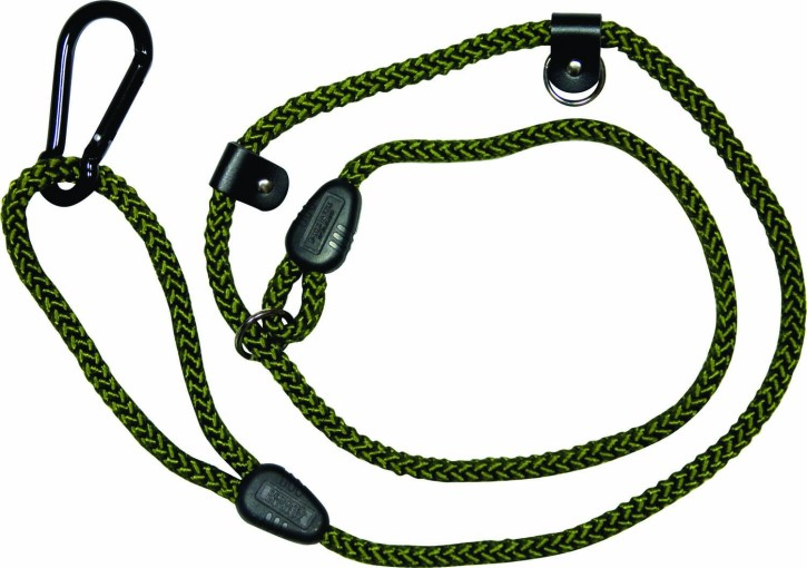 Jack Pyke Adjustable Length Dog Lead in grün
