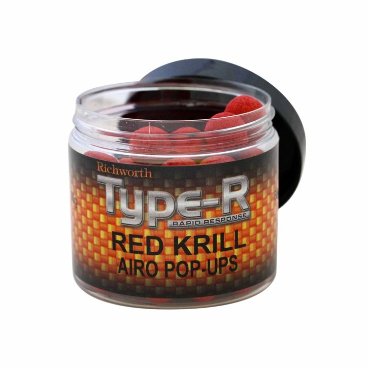 Richworth Type-R Red Krill Pop Up´s 15mm