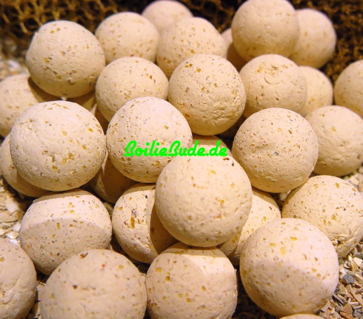 Nashbait Amber Strawberry Boilies 15mm, 1kg