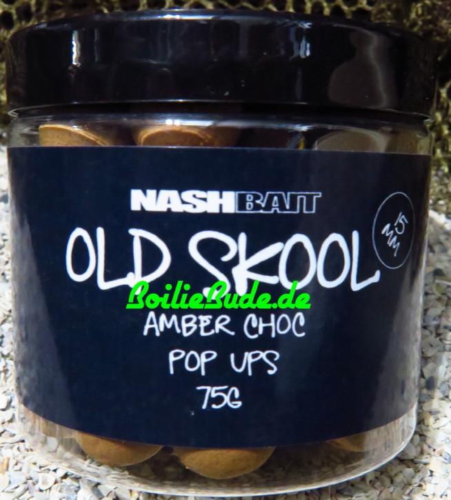 Nashbait Amber Chocolate Pop Up´s 15mm, 75gr.