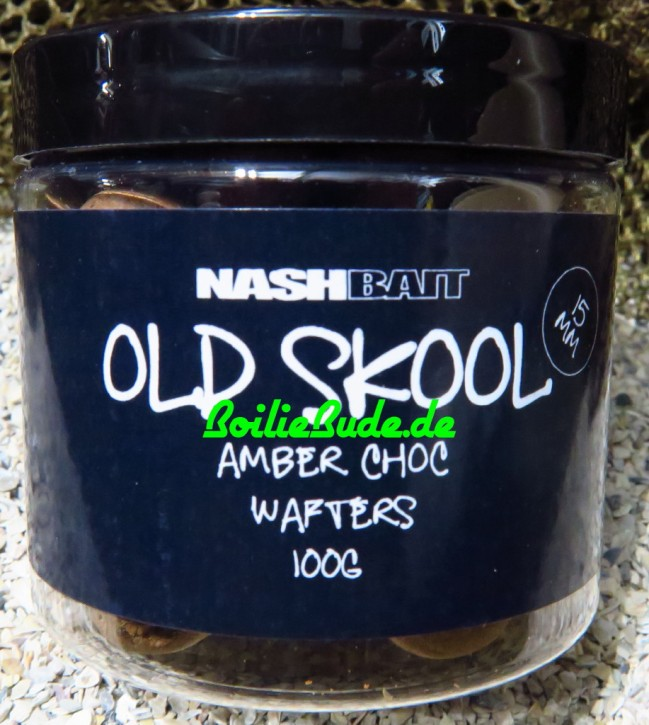 Nashbait Amber Chocolate Wafter 15mm, 100gr.