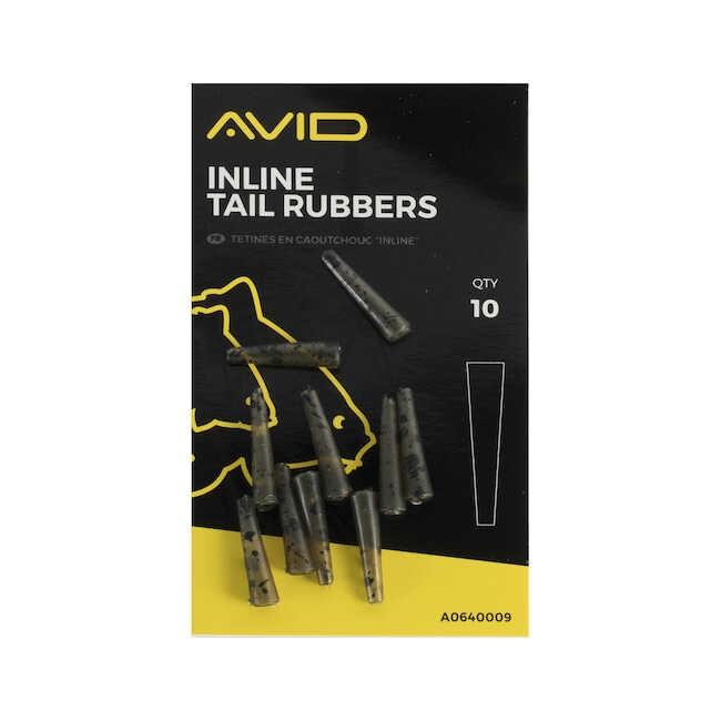 Avid Carp In-Line Tail Rubbers