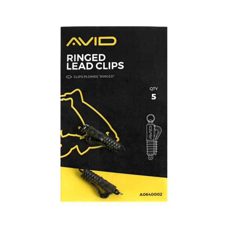 Avid Carp Ringed Lead Clip