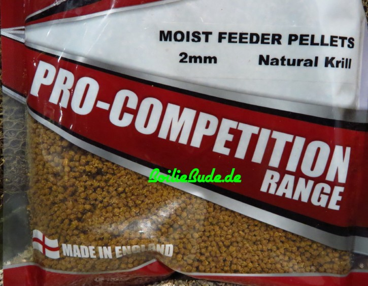 Bag`em Super Natural Krill Moist Feeder Pellets 2mm, 700gr