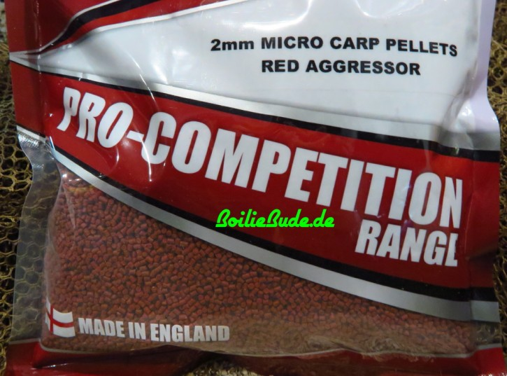 Bag`em Pro Competition Red Aggressor Pellet, 700gr