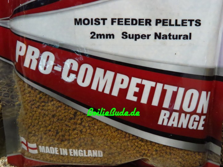 Bag`em Super Natural Moist Feeder Pellets 2mm, 700gr