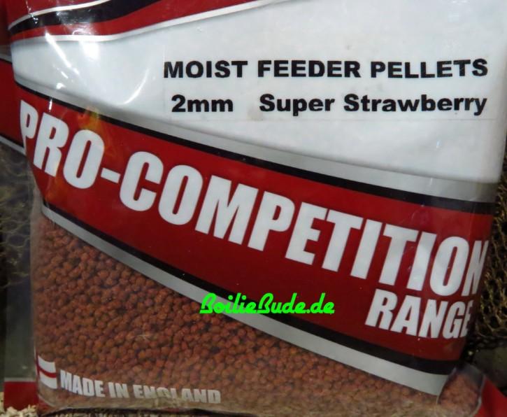 Bag`em Super Natural Strawberry Moist Feeder Pellets 2mm, 700gr