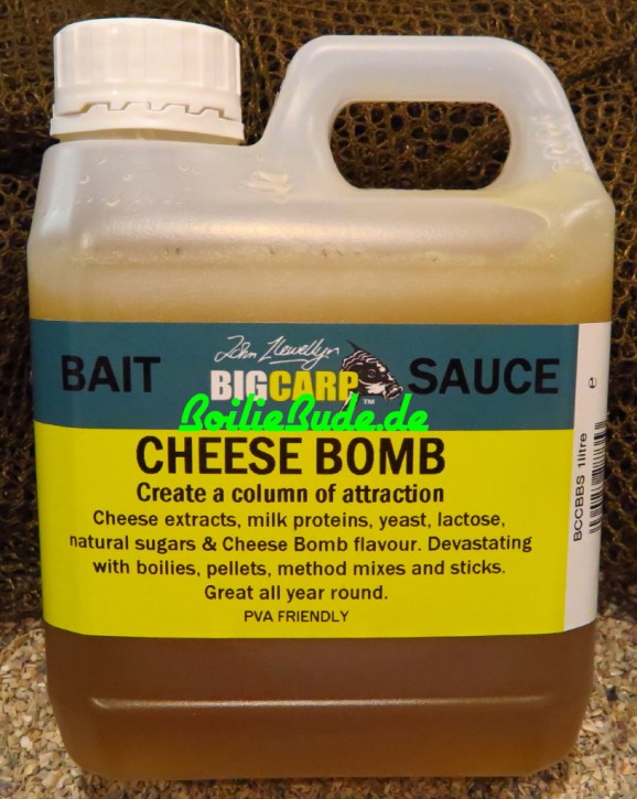 Big Carp Cheese Bomb Bait Sauce 1l