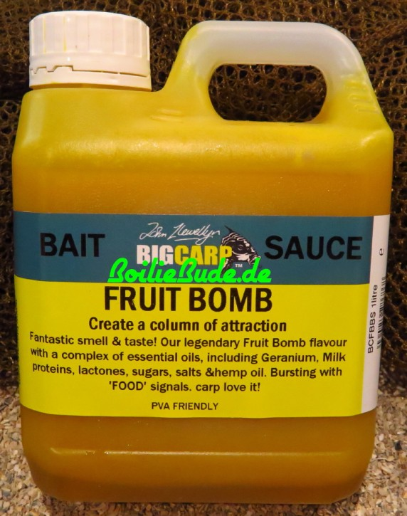 Big Carp Fruit Bomb Bait Sauce 1l