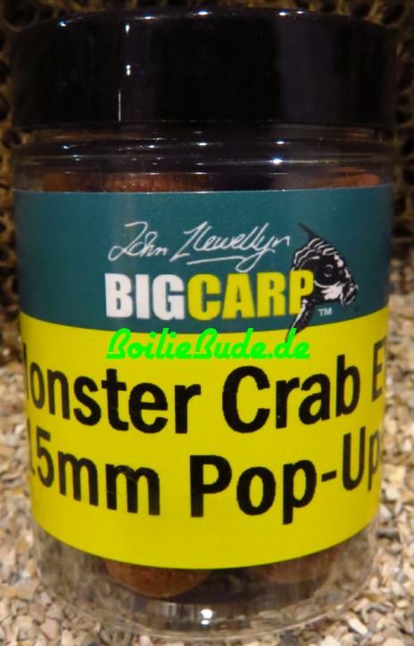 Big Carp Monster Crab EVO Pop Ups 15mm