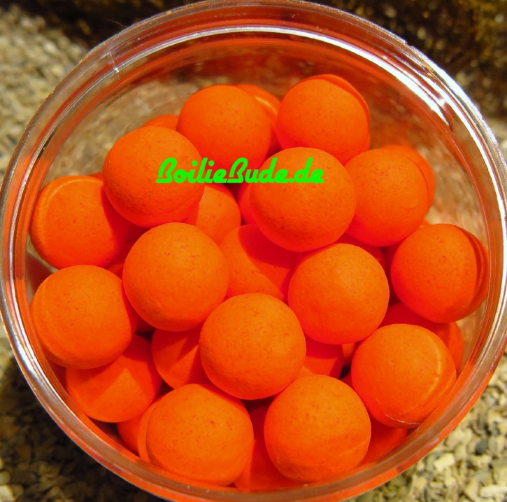 West Country Baits Bio Fruit Pop Up 15mm Fluoro Orange