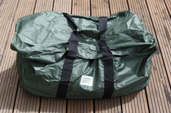 Black Hole Bait Boat/General Holdall von The Air Dry Boilie Bag Company