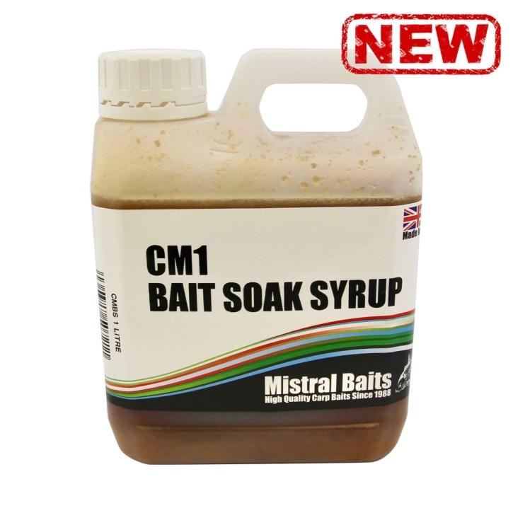 Mistral Baits CM1 Bait Soak Syrup 1l
