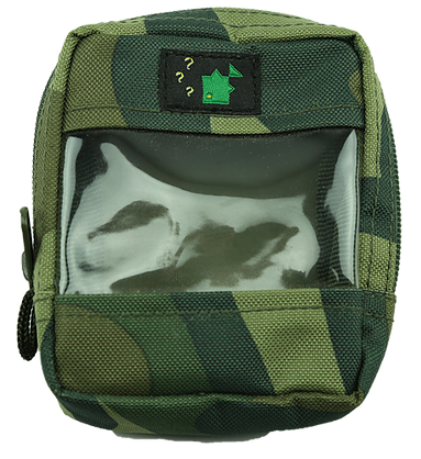 Thinking Anglers Camo Clear Front Zip Bag