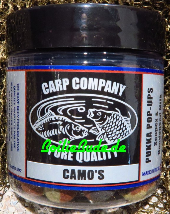 Carp Company Scopex & Condensed Milk Camo Dumbells 14mm x 18mm