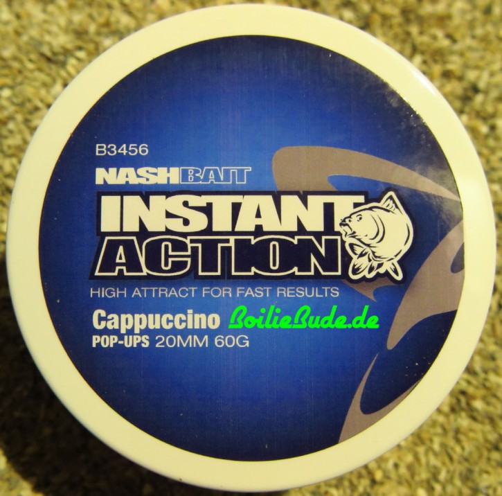 Nashbait Instant Action Cappuccino Pop Up´s 20mm, 60gr.