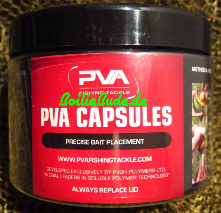 PVA Fishing Tackle Capsules Salty, 10 Stück