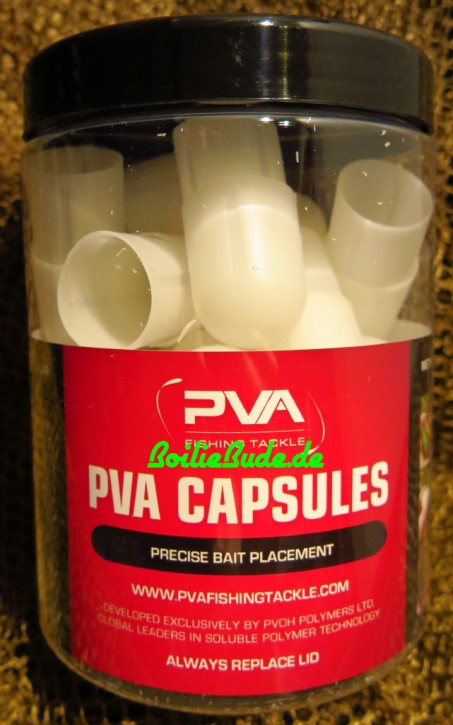 PVA Fishing Tackle Capsules Salty, 20 Stück