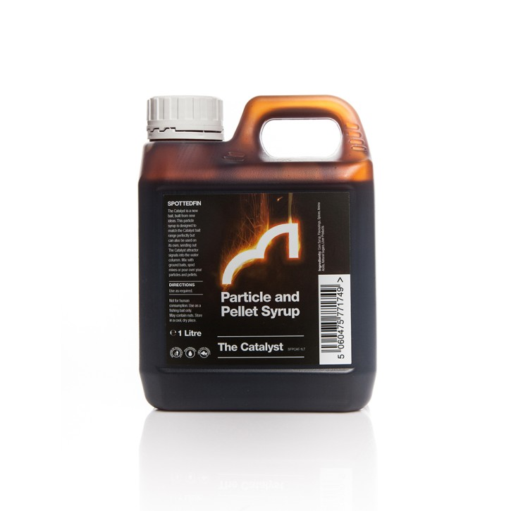 Spotted Fin The Catalyst Particle & Pellet Syrup, 1Liter