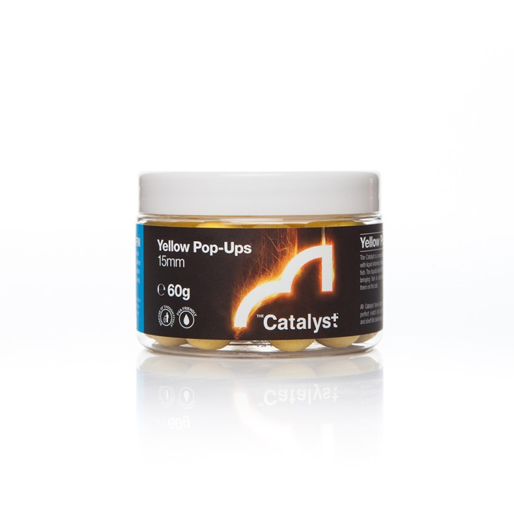 Spotted Fin The Catalyst Yellow Pop Up´s 12mm, 60gr