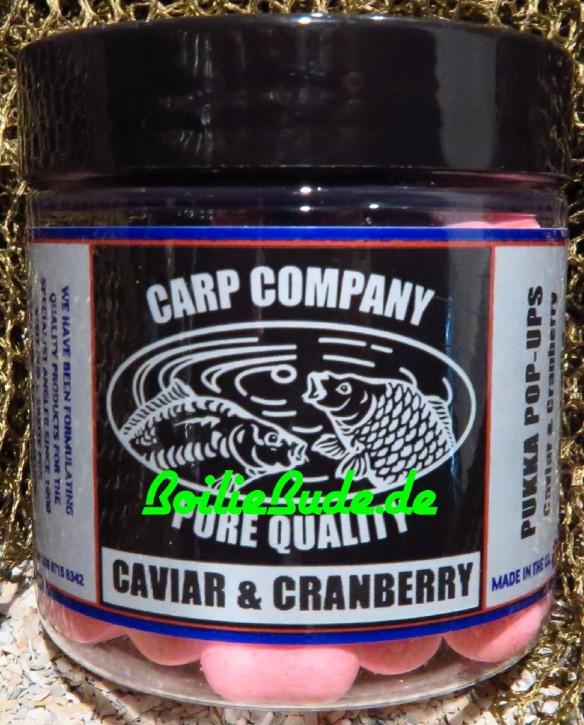 Carp Company Pink Caviar Cranberry Dumbells 14mm x 18mm
