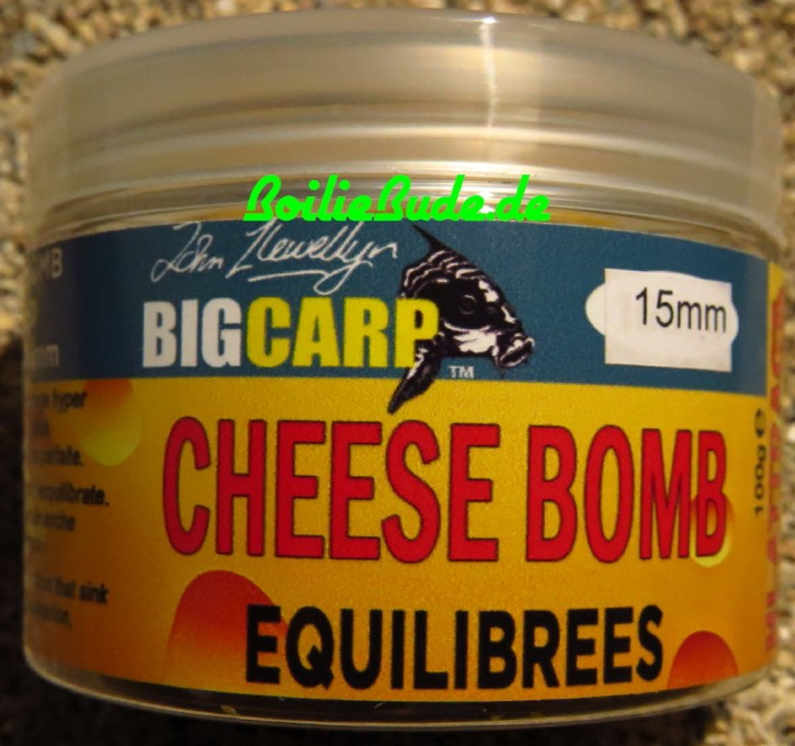 Big Carp Cheese Bomb Wafter 15mm