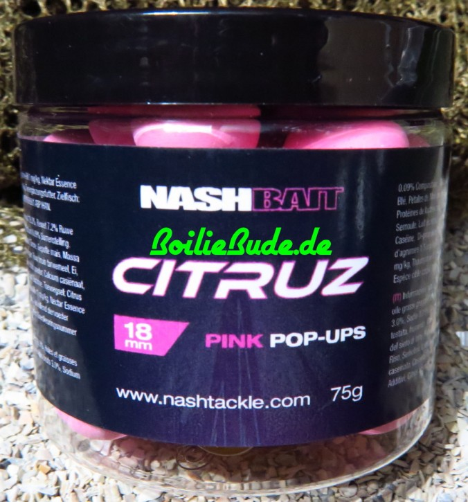 Nashbait Citruz Pink Pop Up´s 18mm, 75gr