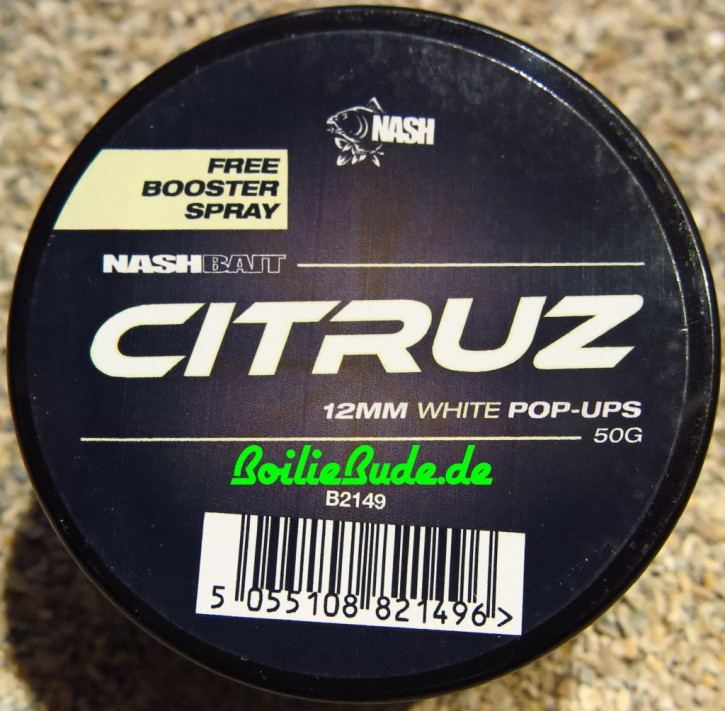 Nashbait Citruz White Pop Up´s 12mm