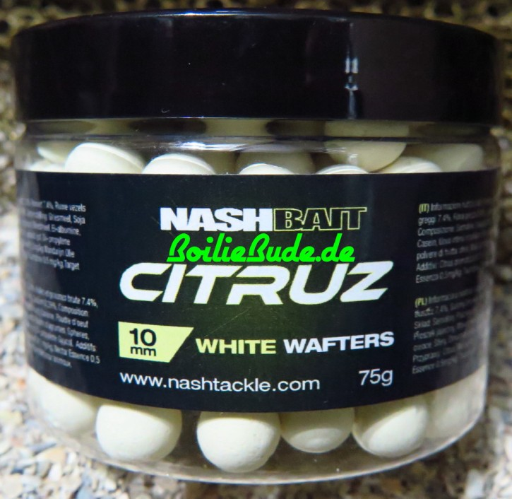 Nashbait Citruz White Wafter 10mm, 75gr