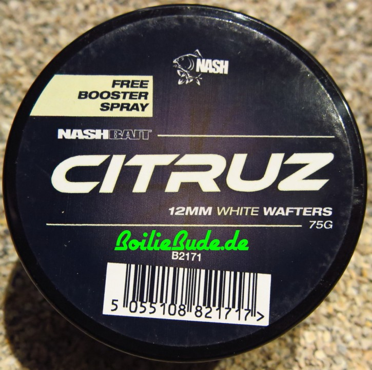 Nashbait Citruz White Wafter 12mm, 75gr