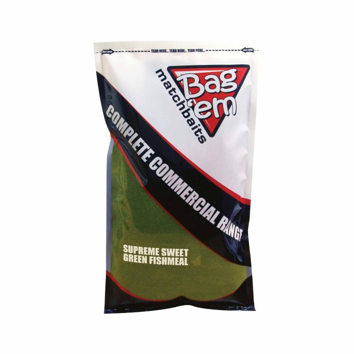Bag`em Supreme Sweet Green Fishmeal, 850gr