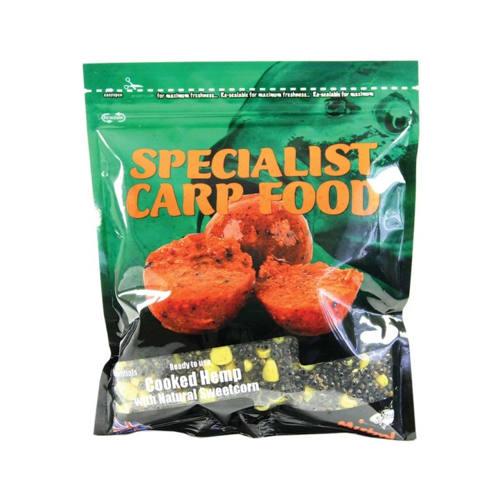 Mistral Baits Cooked Hemp & Sweetcorn 600ml