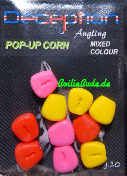 Deception Angling Pop Up Corn Mixed, Pop Up Mais in gemischten Farben