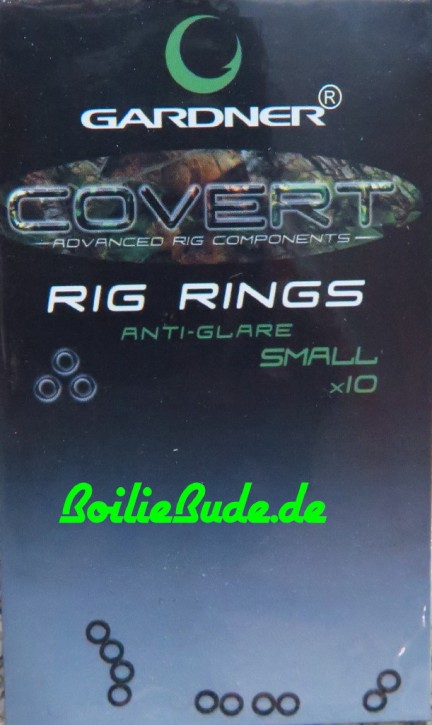 Gardner Tackle Covert Rig Rings Small 3mm, rund