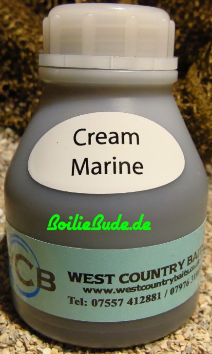 West Country Baits Cream Marine Liquid Concentrate 200ml