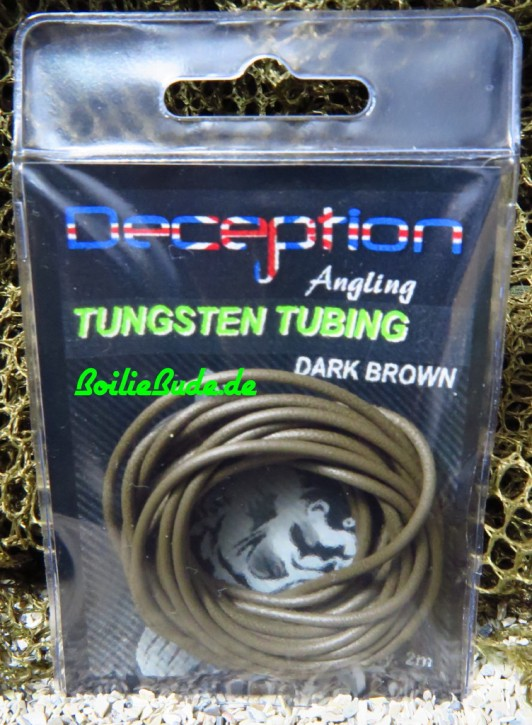 Deception Angling Tungsten Tubing Brown
