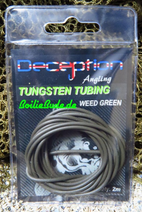 Deception Angling Tungsten Tubing Green