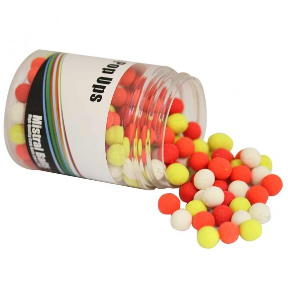 Mistral Baits Pineapple Mini Pop Up´s 6mm - 8mm