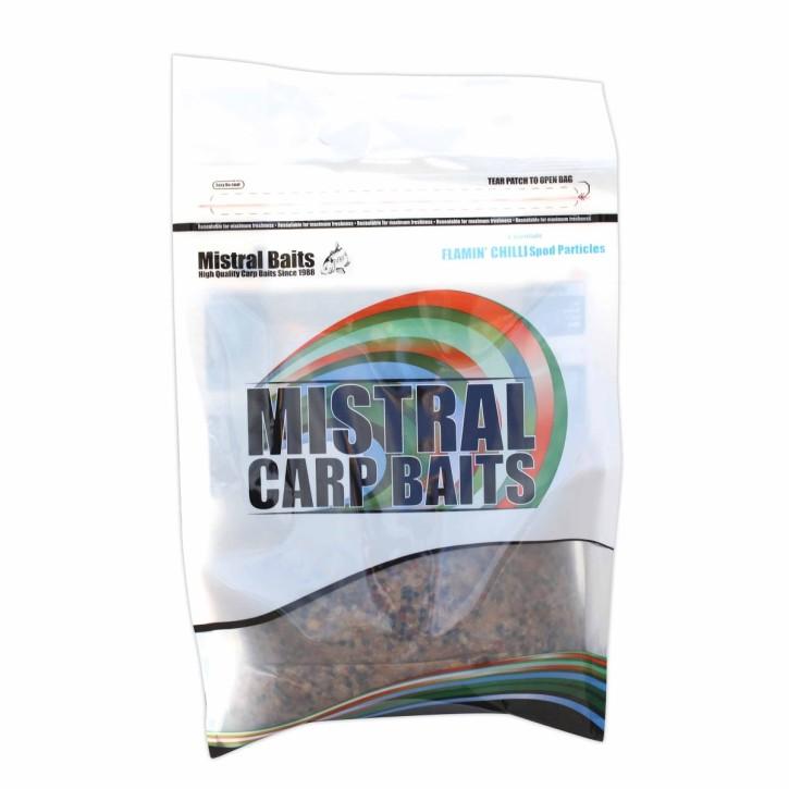 Mistral Baits Flamin Chilli Spod Particles, 4kg