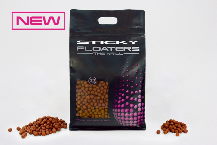 Sticky Baits Floaters The Krill 11mm, 3Kg
