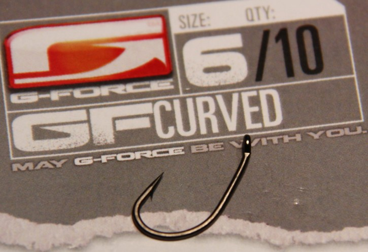 G-Force Tackle Curved Haken mit Widerhaken