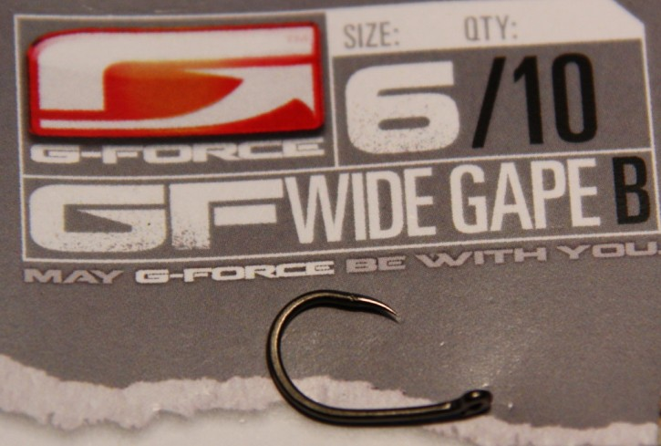 G-Force Tackle Wide Gape Haken ohne Widerhaken