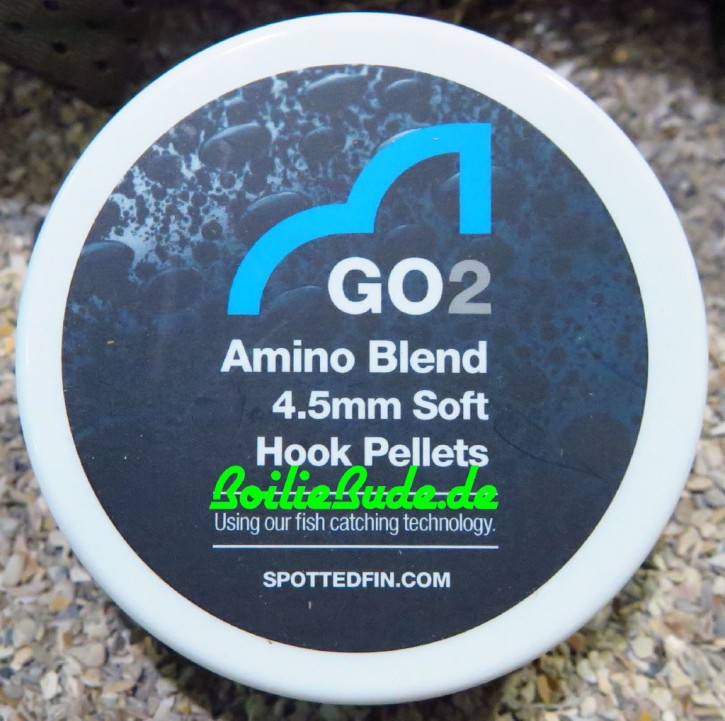 Spotted Fin GO2 Amino Blend Soft Hook Pellet 4.5mm