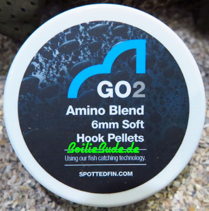 Spotted Fin GO2 Amino Blend Soft Hook Pellet 6mm