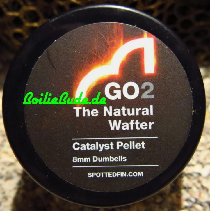 Spotted Fin GO2 Hi-Viz Fluoro Catalyst Wafter Dumbell 8mm, 30gr