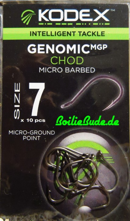KODEX Genomic MGP Chod Hooks Hakengröße 7