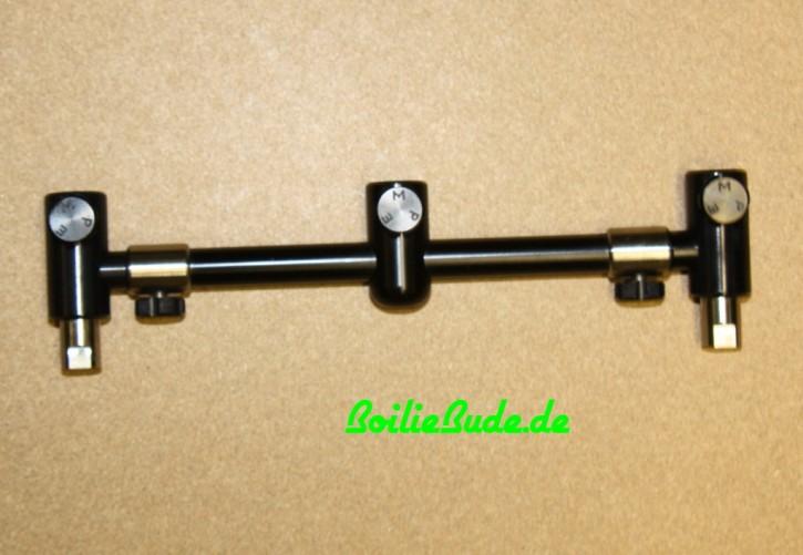 MPE-Tackle 3er Black Goalpost-Buzzerbar adjustable in 8 Inch